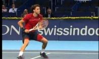 Geriausias tenisininko smūgis pasaulyje