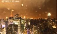 Kaip uraganas per Niu Jorką prasiėjo