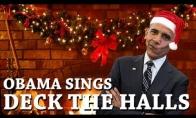Kalėdinė Barako Obamos dainelė