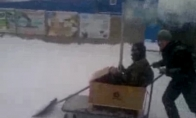 Rusiškas sniego valytuvas