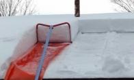 Kaip reikia valyti sniegą