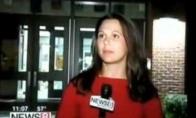 Nuoširdžiausia pasaulyje reporterė