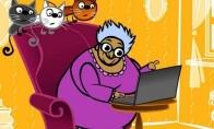 Močiutė feisbuke