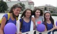 Justin Bieber gerbėjų paradas Vilniuje