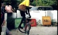 Kiečiausi dviračio triukai