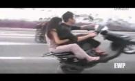 Like a boss motocikluotojas