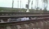 Idiotai po traukiniu