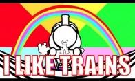 Man patinka traukiniai