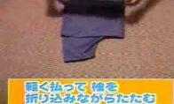 Super marškinėlių lankstymas