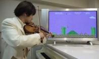 Super Mario smuikas