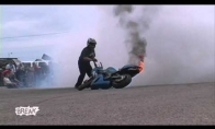 Karštas motociklas