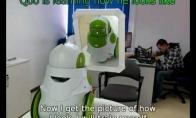 Robotas ir veidrodis