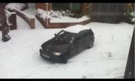 Žiema už vairo