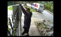 FedEx pristatytojas