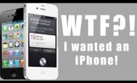 WTF, norėjau iPhone'o!