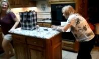 Močiutės pabėgimas iš virtuvės