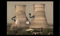 Griuvantys bokštai