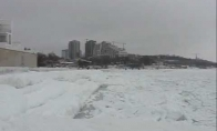 Užšalusios jūros bangavimas