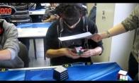 Rubiko kubo surinkimo užrištomis akimis pasaulio rekordas