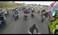 Feisbuko motociklistas