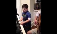 Piano mažius