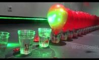 Balionų sprogdinimas lazeriu
