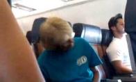 Beprotė lėktuve (nusileidimas)