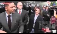Vyrai nelįskite bučiuotis su Will Smith'u