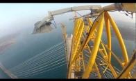 Pasivaikščiojimas Russkyj tiltu