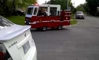 Mažiausia pasaulyje gaisrinė mašina