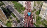 150 metrų virš žemės
