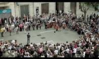 Flashmobas Ispanijoje