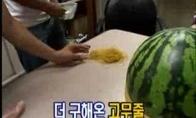 Siauraakiai naikina arbūzą