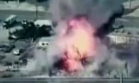 Užsidegė bombų sandėlis
