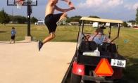 Per golfo mašiniuką