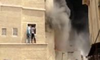 Iš degančio namo išgelbėtas vaikas