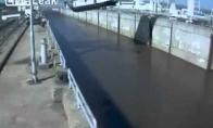 Laivo nuleidimas FAIL