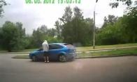 Mašinos nuvogimas prieš akis