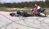 Nevykėliai motociklininkai
