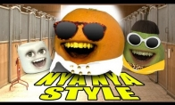 Annoying orange dainuoja Gangnam