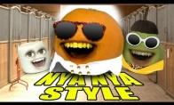 Annoying orange dainuoja Gangnam