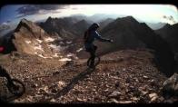 Ekstremalus nusieidimas vienaračiu nuo kalno