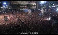 Gangnam gyvai prieš 80000 žmonių minią