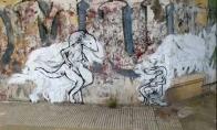 Filmukas iš piešinių ant sienos
