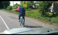 Mandagus dviratininkas