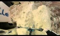 Šūstriausias nusileidimas dviračiu