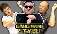 Kaip seneliai į Gangnam style reaguoja