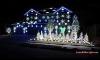 Gangnam style kalėdinės lemputės