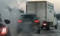 Kaip girti vairuotojai asfaltą šlifuoja