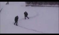 Sniego labirintai